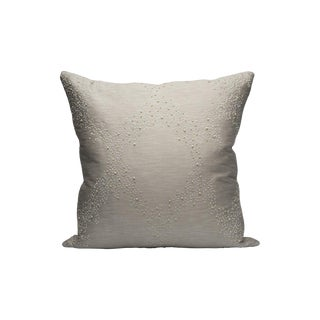 Scalamandre Pearlescence Pillow, Pearl For Sale