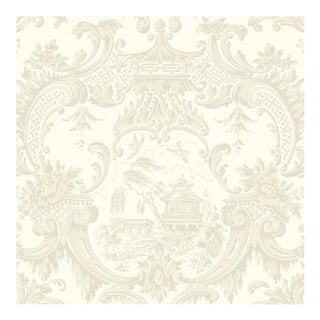Cole & Son Chippendale China Wallpaper Roll - Ivory For Sale