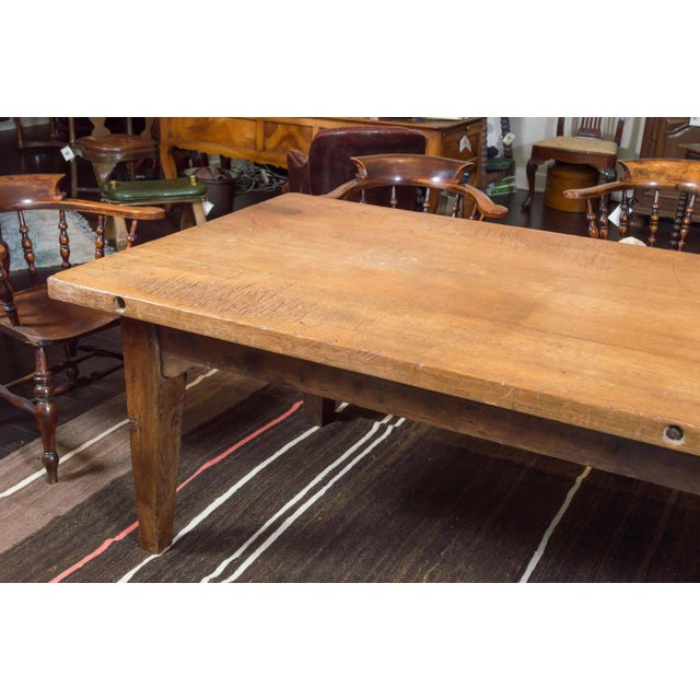 1840's English Farm House Table For Sale - Image 4 of 9