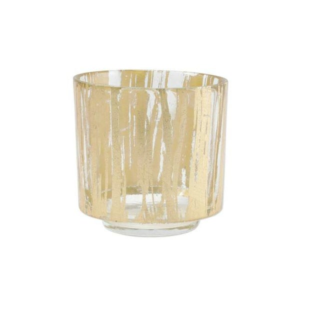 Italian Kenneth Ludwig Chicago Gold Rulfolo Gold Votive For Sale - Image 3 of 3