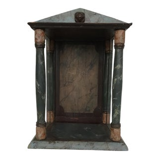 Antique Display Case for Santos For Sale