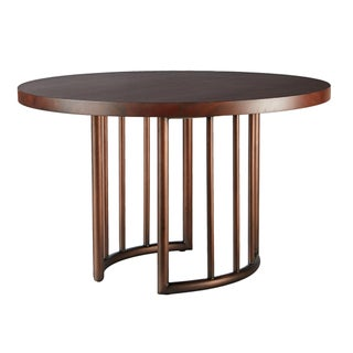 Selamat Designs Mid Century Style Bronze Dining Table For Sale