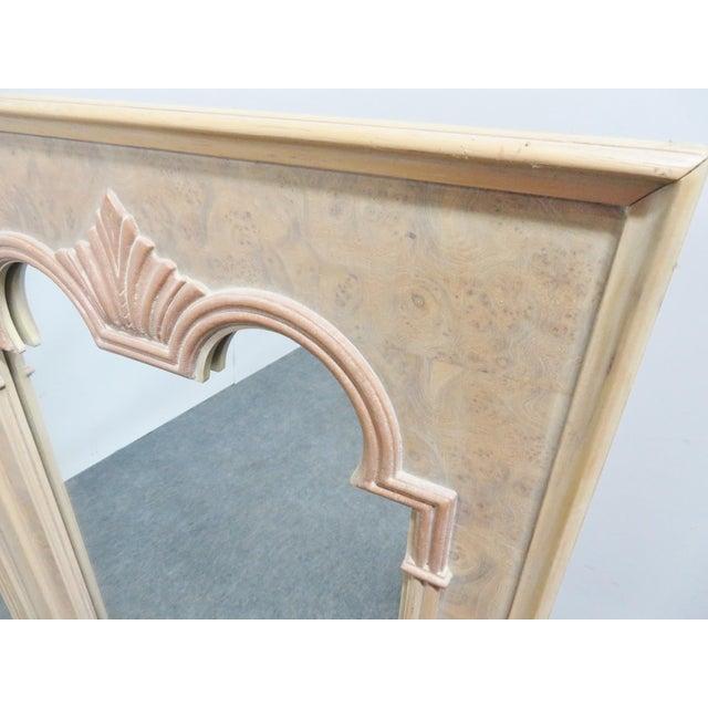 Thomasville Thomasville Italian Style Burlwood Mirrors - a Pair For Sale - Image 4 of 5