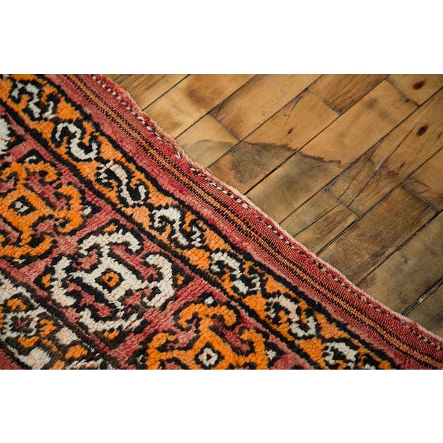 "Red Moroccan Taznakht Rug - 6'7"" X 8' - Image 8 of 8"