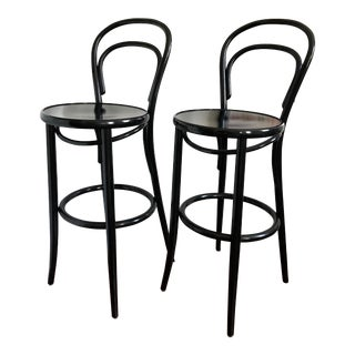 Design Within Reach Thonet Era Barstools- A Pair For Sale