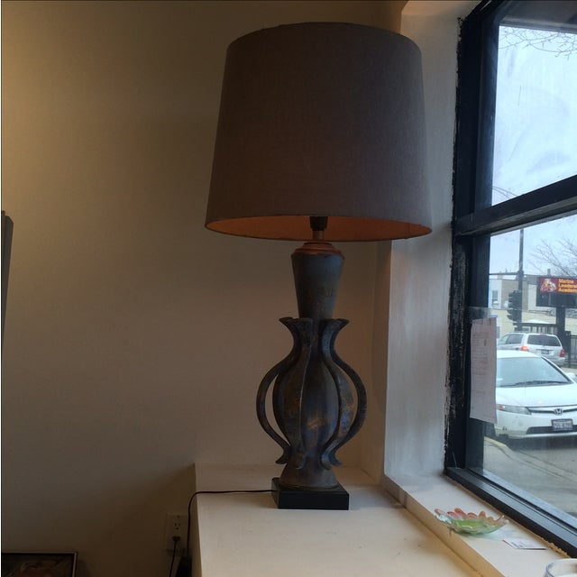 TYE of California Brown Ceramic Table Lamp For Sale - Image 11 of 11