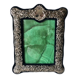 """Silver Picture Frame-8.5"""" X 11"""" For Sale"""
