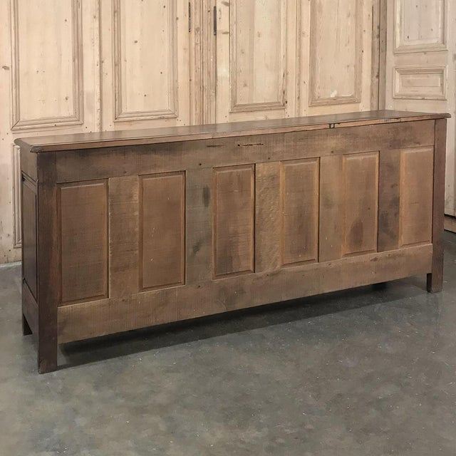 18th Century Country French Provincial Low Buffet For Sale - Image 12 of 13