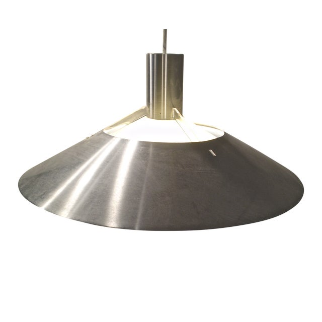 Vintage 1970s Modern Light Fixture - Image 1 of 4