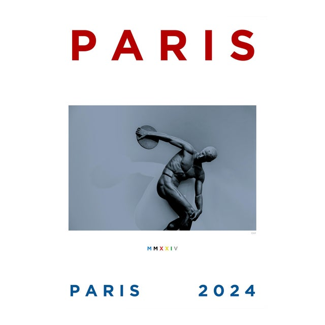 Paris 2024 Poster For Sale