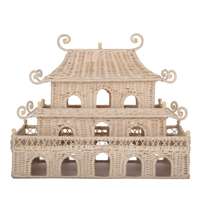 Not Yet Made - Made To Order Rectangle Pagoda For Sale - Image 5 of 5