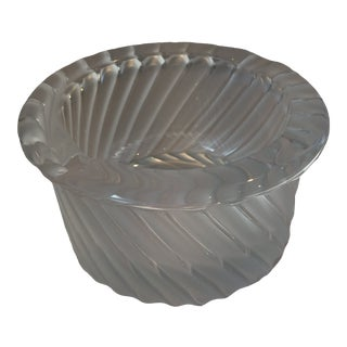Early 20th Century Contemporary Lalique Crystal Ashtrays For Sale