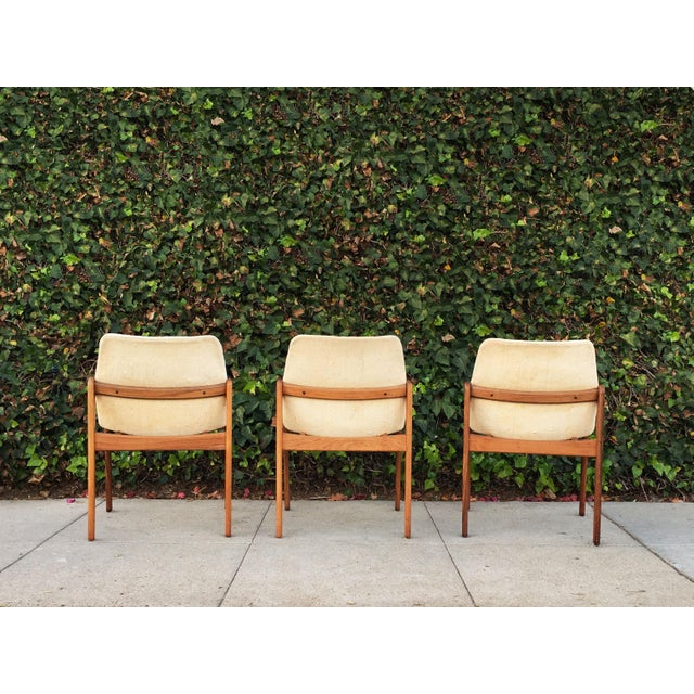 Kai Kristiansen for Korup Stolefabrik Mid-Century Modern Carver Rosewood Dining Chairs - Set of 6 For Sale - Image 5 of 7