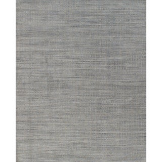 Simplicity Blue Beige Contemporary Handwoven Rug 9'11 X 13'11 For Sale
