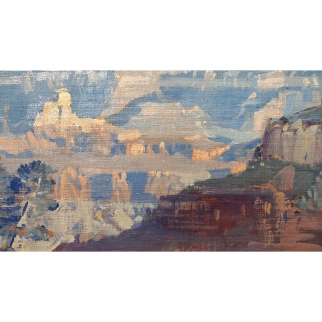 Fitch Fulton Grand Canyon Landscape Oil Painting - Image 6 of 11