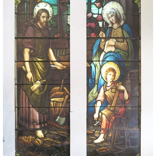 Emil Frei Religious Stained Glass Vitral Preview