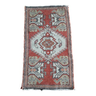 """Vintage Turkish Rugs-1'7'x3'6"""" For Sale"""