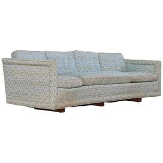 Erwin Lambeth Custom Curved Sofa For Sale