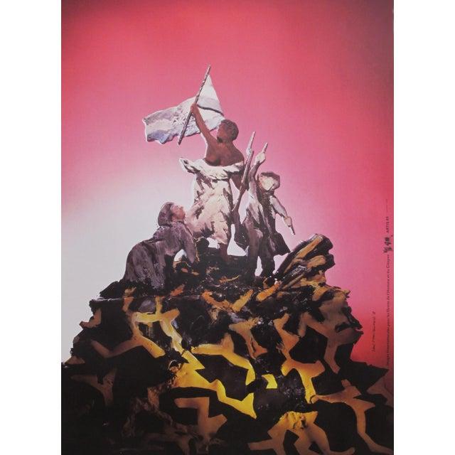 1989 Original Poster for Artis 89's Images Internationales Pour Les Droits De l'Homme Et Du Citoyen - Marianne For Sale - Image 4 of 4