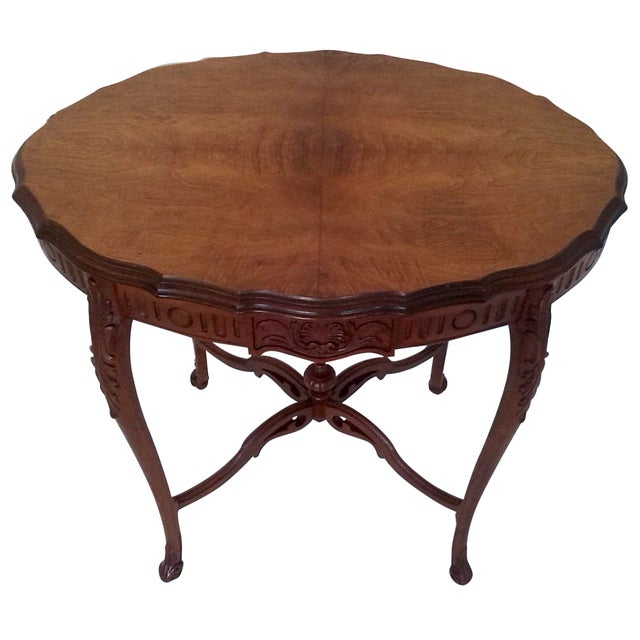 1920s Weiman Heirloom Occasional Table - Image 1 of 6