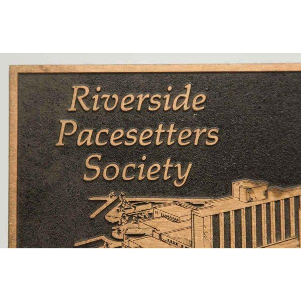 Vintage Riverside Pacesetters Society Plaque - Image 3 of 6