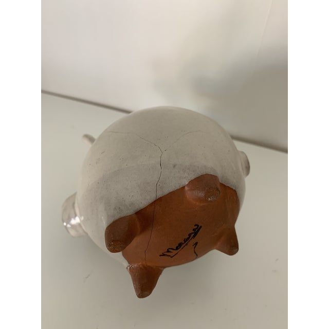 Early 21st Century Terracotta Pig Figurine For Sale - Image 5 of 7