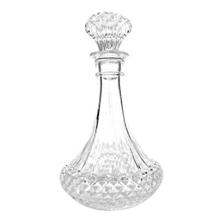 Longchamp Ships French Whiskey Crystal Decanter For Sale