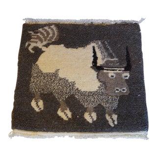 Vintage Zodiac Bull Tapestry For Sale