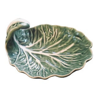 Vintage Bordallo Pinheiro Cabbage Dish For Sale