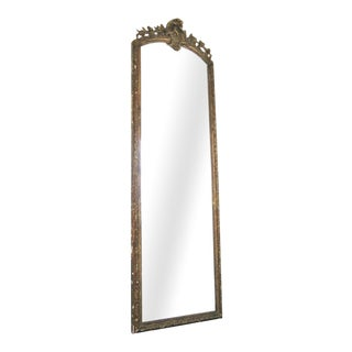 19th Century French Gilt Wood Mirror For Sale