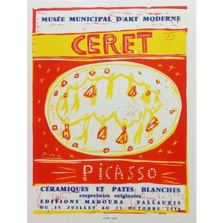 1959 Pablo Picasso 92, Lithograph Poster For Sale