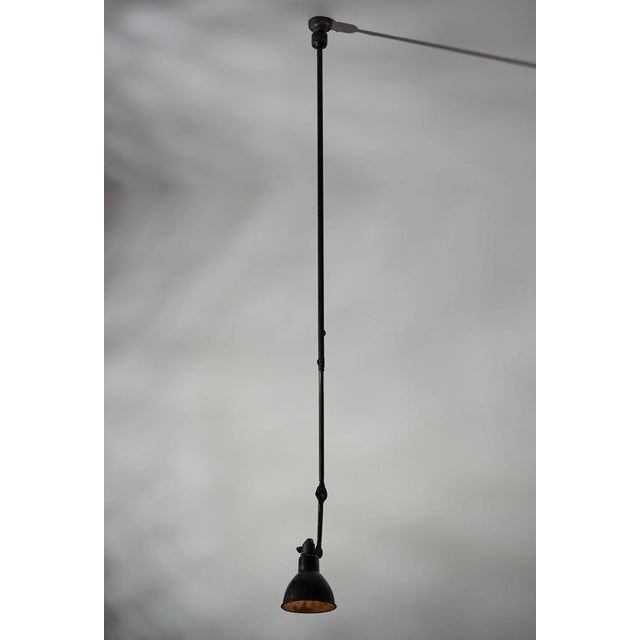 Model No. 302 Adjustable Ceiling Light by Gras Ravel - Image 5 of 9