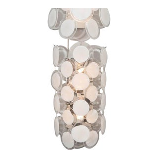Murano Glass Disc Sconce For Sale