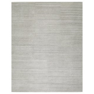 Stark Studio Rugs Contemporary Oriental Bamboo Silk and Wool Rug - 5' X 7' For Sale