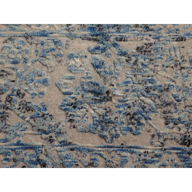 Hand Knotted Indian Rug - 8′ × 10′ - Image 5 of 11