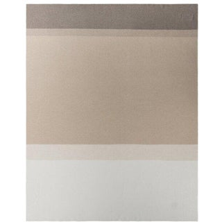 "Array Cashmere Blanket, Taupe, 50"" x 67"" For Sale"