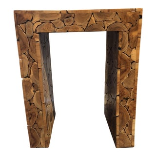 1990s Organic Modern Style Console Table For Sale