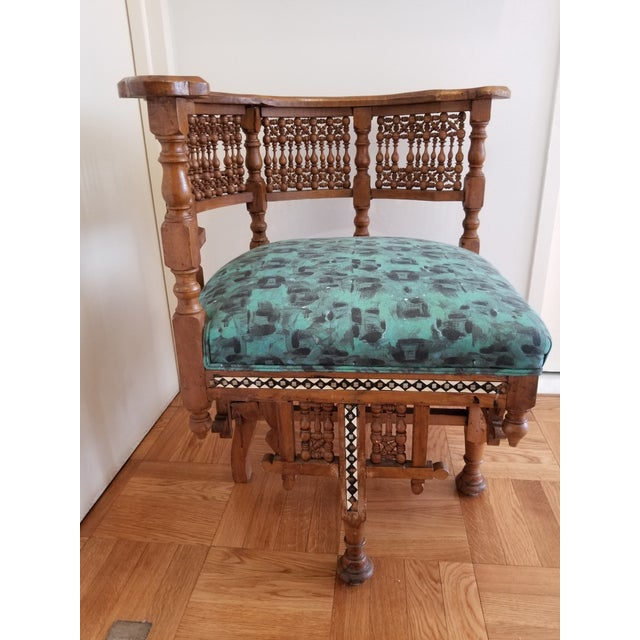 Early 20th Century Moroccan Side Chair For Sale - Image 12 of 12