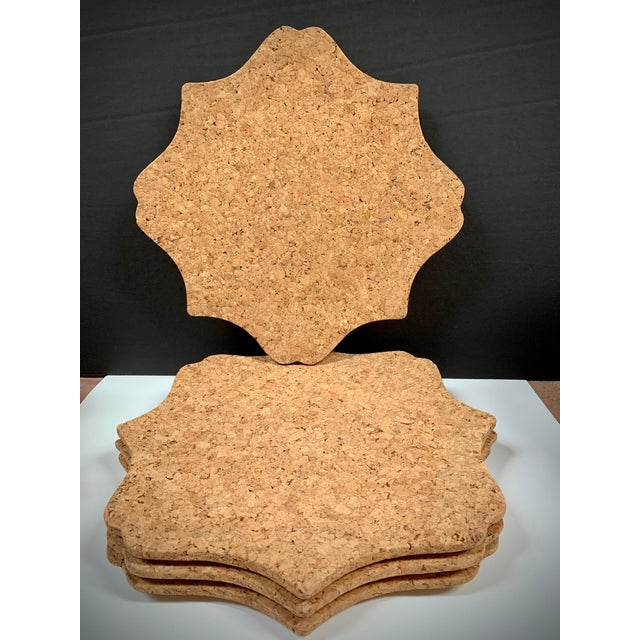 Contemporary Juliska Natural Cork Chargers - Set of 4 For Sale - Image 3 of 10