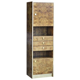 Thomasville Burled Wood Cabinet For Sale