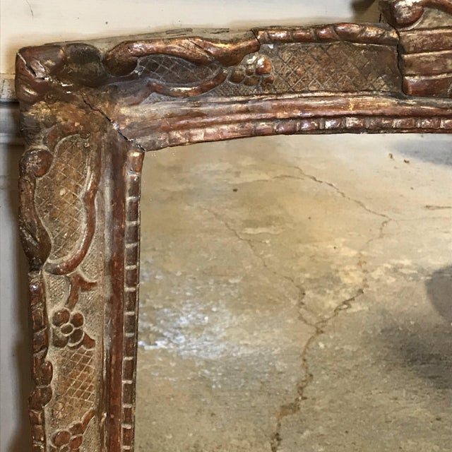 19th Century Giltwood Mirror For Sale - Image 4 of 11