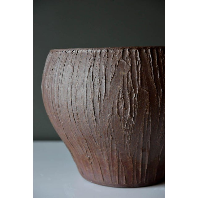 1970s 1970s Mid-Century Modern David Cressey for Architectural Pottery Stoneware Vessel For Sale - Image 5 of 9