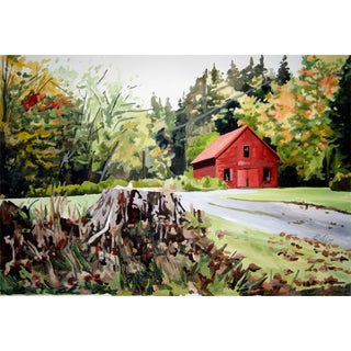 "Josh Moulton ""Vermont Fall"" Giclee Print After a Painting For Sale"