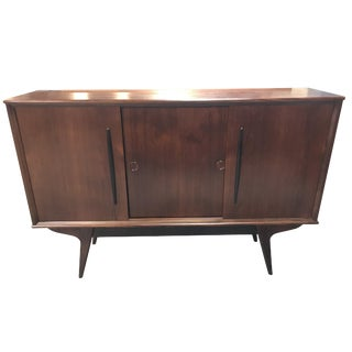 Danish Mid-Century Modern Two-Cabinet Credenza