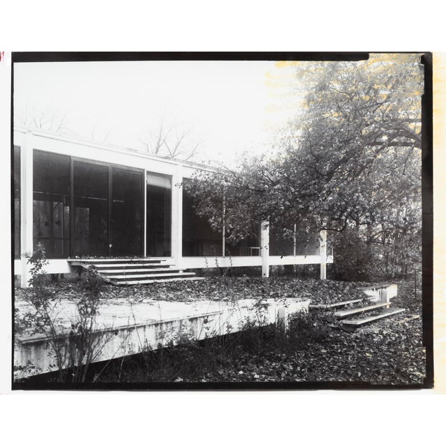 """""""Farnsworth House Early Decline #1"""" Photograph by Jim Zanzi For Sale In Chicago - Image 6 of 6"""