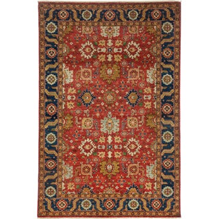 """Ziegler Hand Knotted Area Rug - 6' X 9'1"""""""
