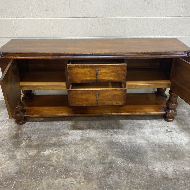 South Cone Trading Co. Mahogany Side Board For Sale In Richmond - Image 6 of 13