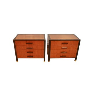 Pair Mid Century Harvey Probber Nightstands End Tables For Sale