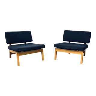 Gus Modern Contemporary Lounge Chairs - a Pair For Sale