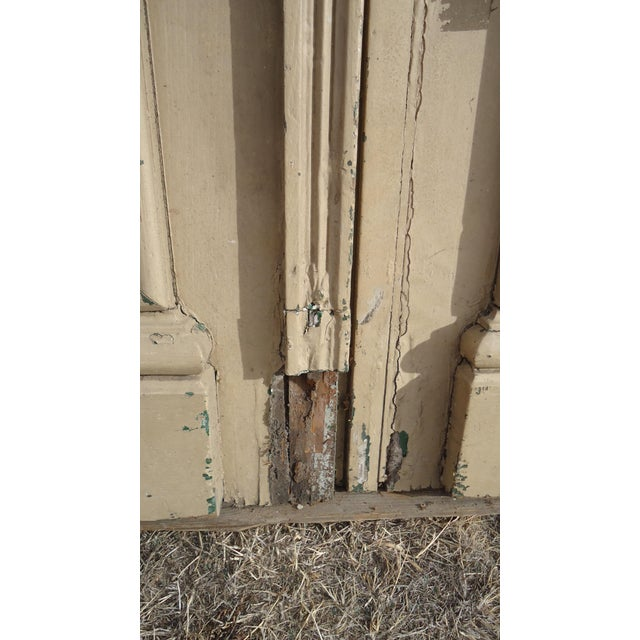 Antique Ornate South American Doors - A Pair For Sale - Image 9 of 11